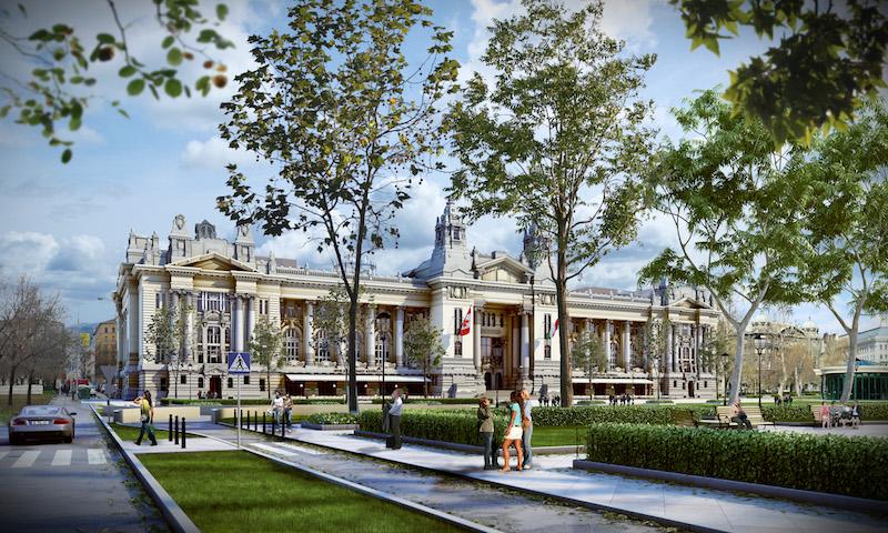 Exchange Palace Budapest